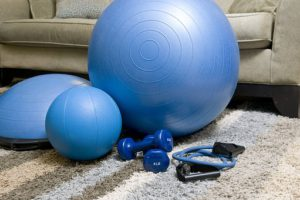 home exercise schedule