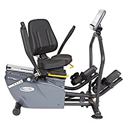 recumbent elliptical exercise machine